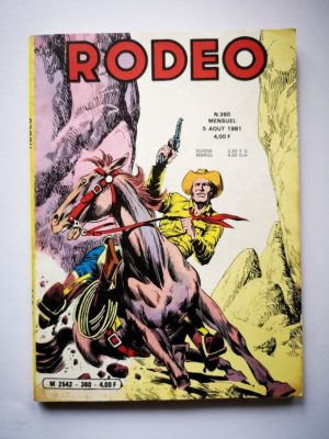RODEO N° 360 TEX WILLER BD Petit Format