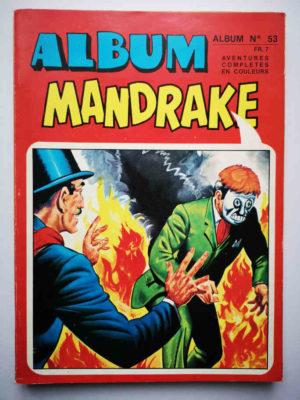 MANDRAKE ALBUM 53 (N°423-424-425) REMPARTS 1975