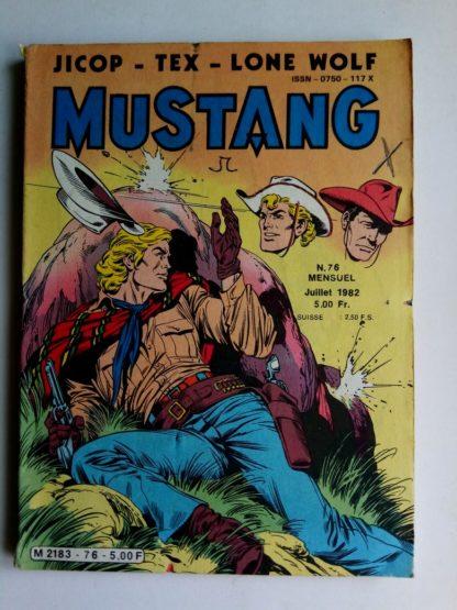 Mustang n°76 - TEX Willer