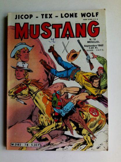 Mustang n°78 - TEX Willer