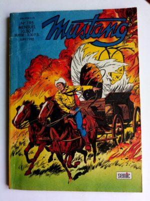 MUSTANG N°195 – TEX WILLER (L'homme venu de Denver – 3e partie) SEMIC 1992