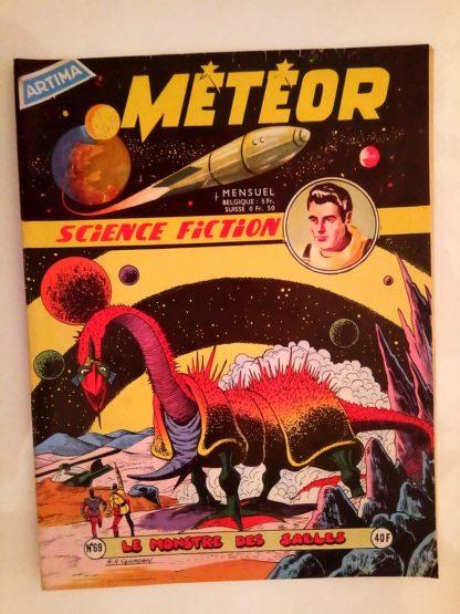 METEOR (1e SERIE) n°69 Le Monstre des Sables (ARTIMA 1959)