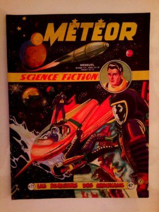METEOR (1e SERIE) n°71 Les derniers des Aroukans (ARTIMA 1959)