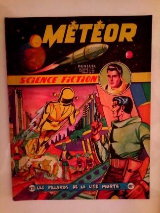 METEOR (1e SERIE) n°72 Les pillards de la cité morte (ARTIMA 1959)