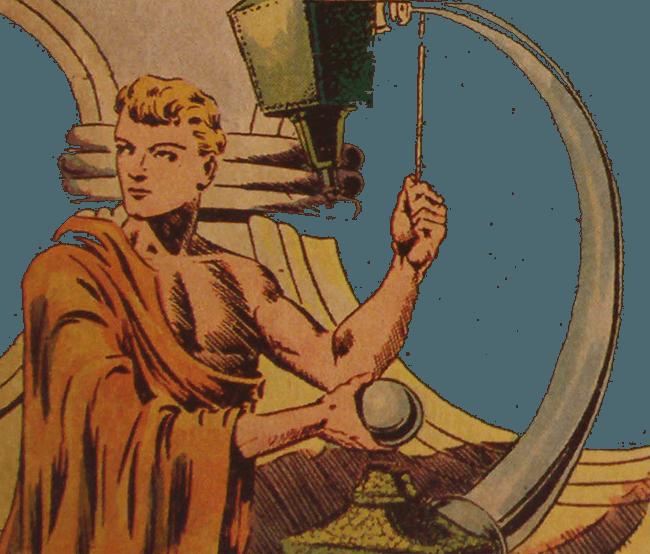 récits complets - Collection Merveilleuse n°13 - SAGE 1940 (détail)