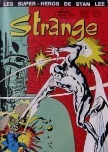 Strange n°1 (5 janvier 1970) avec le Surfer d'argent en couverture.