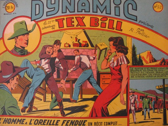 récits complets - Tex Bill - Dynamic n°52 (Artima)
