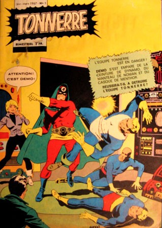Tonnerre n°1 (janv/mars 1967) Remparts avec les T.H.U.N.D.E.R. agents.