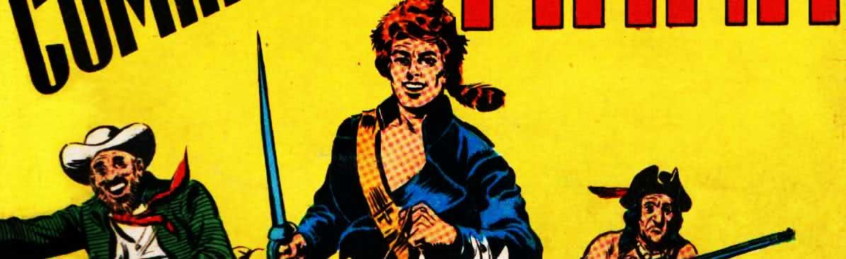 Captain Swing, alter ego de Blek : le petit format tout en muscle..