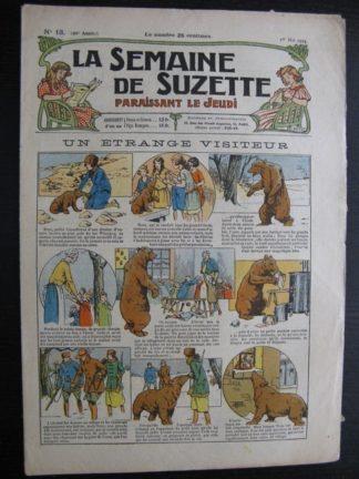 La Semaine de Suzette 20e année n°13 (1924) Bécassine