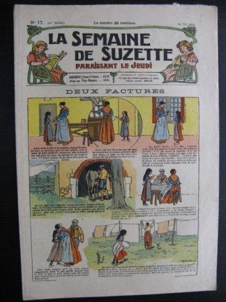 La Semaine de Suzette 20e année n°17 (1924) Bleuette Bécassine