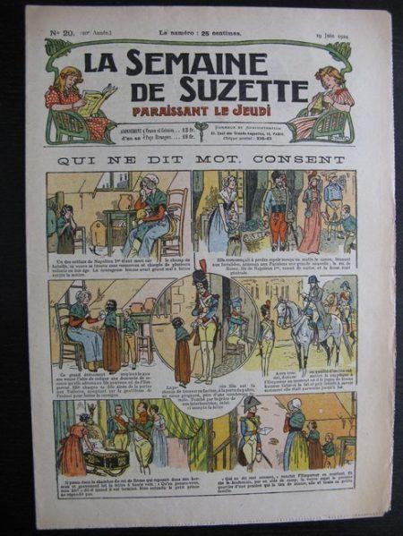 La Semaine de Suzette 20e année n°20 (1924) Bleuette Bécassine