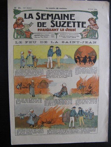 La Semaine de Suzette 20e année n°21 (1924) Bécassine