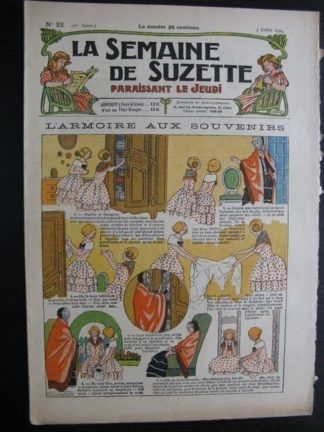 La Semaine de Suzette 20e année n°22 (1924) Bécassine