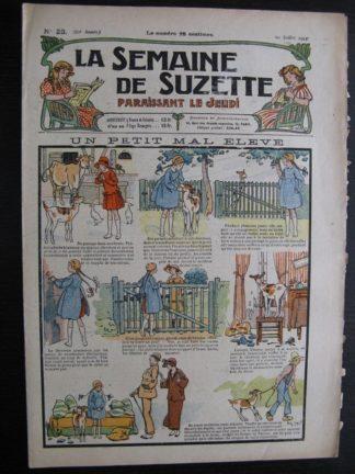 La Semaine de Suzette 20e année n°23 (1924) Bécassine