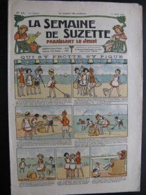 La Semaine de Suzette 20e année n°24 (1924) Bécassine