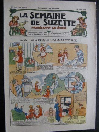 La Semaine de Suzette 20e année n°25 (1924) Bécassine