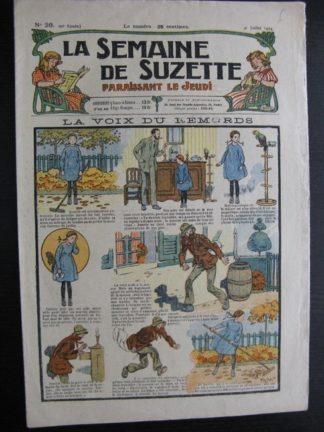 La Semaine de Suzette 20e année n°26 (1924) Bleuette Bécassine