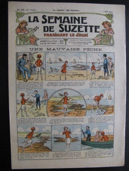 La Semaine de Suzette 20e année n°27 (1924) Bécassine