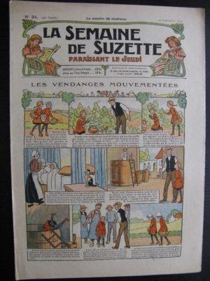 La Semaine de Suzette 20e année n°34 (1924) Nane