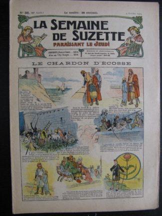 La Semaine de Suzette 20e année n°36 (1924) Nane