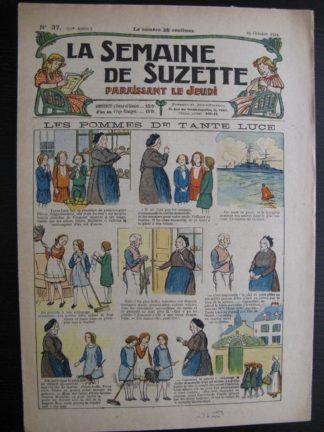 La Semaine de Suzette 20e année n°37 (1924) Bleuette Nane