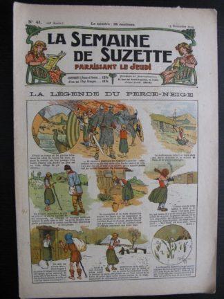 La Semaine de Suzette 20e année n°41 (1924) Bleuette Nane