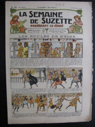 La Semaine de Suzette 20e année n°42 (1924) Nane