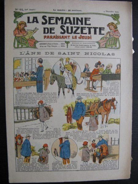 La Semaine de Suzette 20e année n°44 (1924) Nane