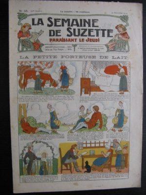 La Semaine de Suzette 20e année n°45 (1924) Bleuette Nane