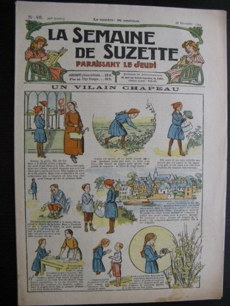 La Semaine de Suzette 20e année n°46 (1924) Nane