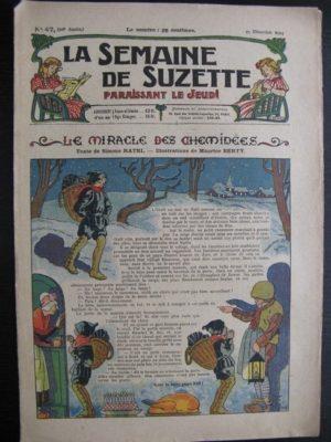 La Semaine de Suzette 20e année n°47 (25 décembre1924)