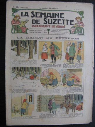 La Semaine de Suzette 20e année n°50 (1925) Bleuette