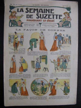 La Semaine de Suzette 21e année n°3 (1925) Bécassine