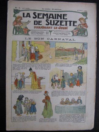 La Semaine de Suzette 21e année n°4 (1925) Bécassine