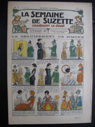 La Semaine de Suzette 21e année n°7 (1925) Bécassine