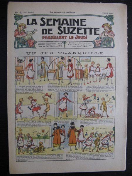 La Semaine de Suzette 21e année n°9 (1925) Bécassine Bleuette