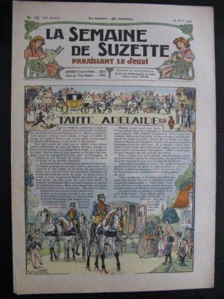 La Semaine de Suzette 21e année n°12 (1925) Bécassine Bleuette
