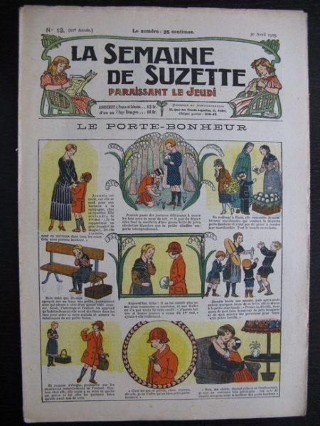 La Semaine de Suzette 21e année n°13 (1925) Bécassine