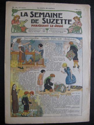 La Semaine de Suzette 21e année n°14 (1925) Bécassine Bleuette Mique et Trac