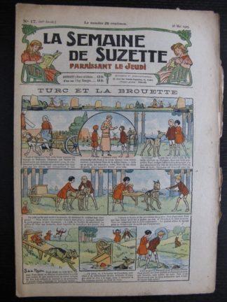 La Semaine de Suzette 21e année n°17 (1925) Bécassine Bleuette Jacqueline Duché