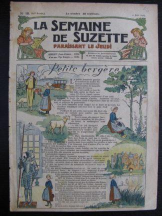 La Semaine de Suzette 21e année n°18 (1925) Bécassine Bleuette Mique et Trac