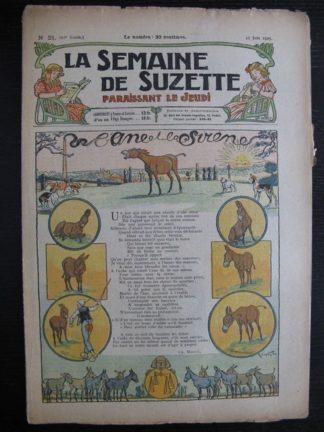 La Semaine de Suzette 21e année n°21 (1925) Bécassine Mique et Trac