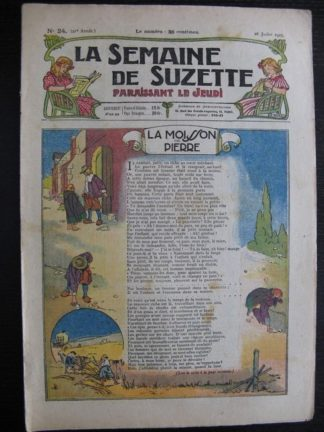 La Semaine de Suzette 21e année n°24 (1925) Bécassine