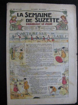 La Semaine de Suzette 21e année n°27 (1925) Bécassine Bleuette