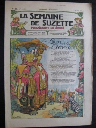 La Semaine de Suzette 21e année n°28 (1925) Bécassine
