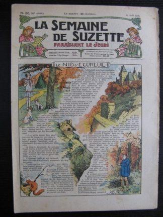 La Semaine de Suzette 21e année n°29 (1925) Bécassine Bleuette Mique et Trac