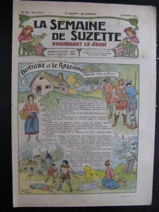 La Semaine de Suzette 21e année n°31 (1925) Bertrade et le rossignol