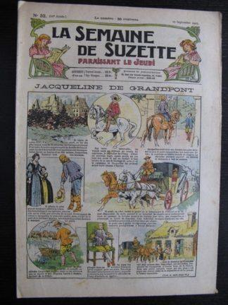 La Semaine de Suzette 21e année n°32 (1925) Bleuette Le Rallic