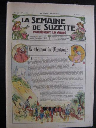 La Semaine de Suzette 21e année n°41 (1925) Nane